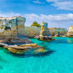 Tour della Puglia:   Bari · Lecce · Otranto · Santa Maria di Leuca · Gallipoli · Ostuni