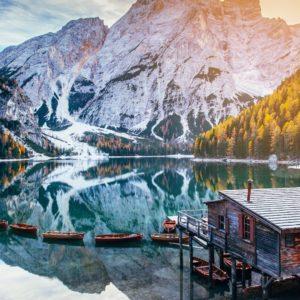 Le tre stelle dell 'Alto Adige  .. Bolzano   Lago di Braies   Brunico